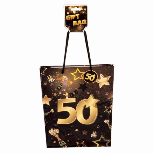 50th Birthday Gift Bag Party Favor Favour